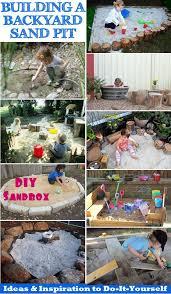 Backyard Sand Building A Backyard Sandpit Ideas U0026 Inspiration To Diy Sand