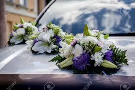 wedding car decoration stock photo picture and royalty free image