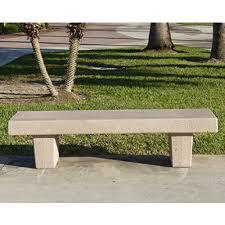 Commercial Outdoor Bench Concrete Park Benches Precast Curved Benches Concrete Park Benches