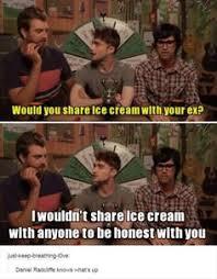Daniel Radcliffe Meme - daniel radcliffe is like the female version of jennifer lawrence