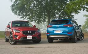 mazda all motors 2016 mazda cx 5 vs 2016 hyundai tucson autoguide com news
