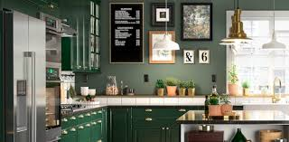 green kitchen cabinets pictures green kitchen cabinets bodbyn series ikea
