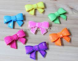 bows for hair aliexpress buy 1 7 neon sequin bows hair bows for
