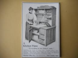 magnet hoosier cabinet vintage ad magnet