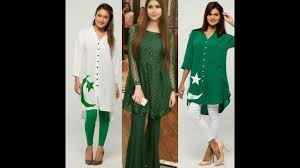 latest dresses for girls for 14th august independence day