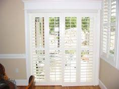 Plantation Shutters For Patio Doors Opt For Shutters For Sliding Doors Sliding Glass Door Glass