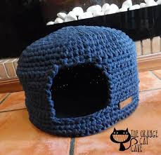 knitting pattern cat cave blue cat cave crochet cat bed cat cave pet house tshirt yarn