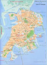 A Map Of China by China Macau Maps Casino Sketch Layout Of Downtown Area