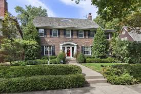 evanston home with colonial influence 2m chicago tribune