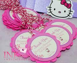 Hello Kitty Invitation Cards Inkpressive Invitations August 2013