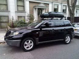black mitsubishi outlander sport black mitsubishi outlander 4x4 auto with roof box dvd usb divx