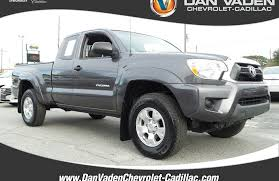 used toyota 2014 used 2014 toyota tacoma 4x4 truck access cab for sale in