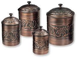 antique kitchen canister sets antique embossed heritage canister set 4