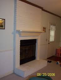 how to refinish brick fireplace decorating ideas excellent under