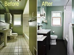bathroom remodeling ideas before and after the cheapest bathroom remodel ideas