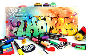 tableau pour chambre ado julien avignon graffiti enfant