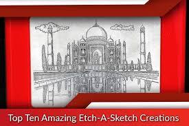 amazing etch a sketch creations top ten list