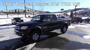 toyota tacoma road for sale 2005 toyota tundra sr5 trd road access cab truck for sale in