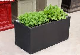 large wide black planter box u2022 grabone nz