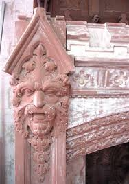 carved gothic fireplace mantel from a new york estate for sale at