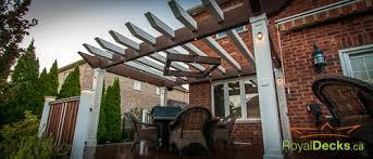 Deck Pergola Pictures by Decks With Pergolas Pergola Plans Designer U0026 Builder Royal