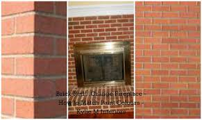 bright red and orange toned brick fireplace how to pick wall paint