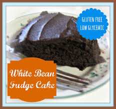 white bean fudge cake gluten free low glycemic grain mill wagon