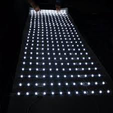 best price light linking mesh light led curtain for