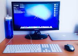 Mac Desk Top Computer Mac Setups The Multi Mac Desk Of A Web Developer