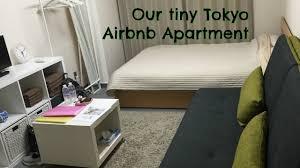 tiny japanese apartment travel japan part 4 tiny airbnb apartment tour shinjuku tokyo