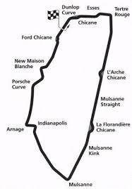 map of le mans le mans track info