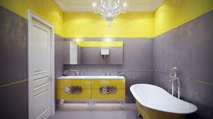 Yellow Tile Bathroom Paint Colors by Yellow Bathroom Color 3482