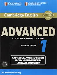 cambridge english advanced 1 for revised exam from 2015 student u0027s