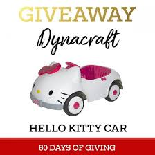 60 giving dynacraft kitty car daily mom