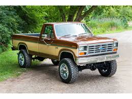 jeep honcho lifted 1985 ford f250 4x4 pickup for sale classiccars com cc 893799