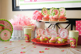 strawberry shortcake party supplies k i s s keep it simple the secret to a simple