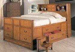 king size captains bed very fascinating all king bed