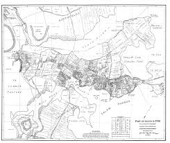 Map Of Salem Massachusetts by Peach