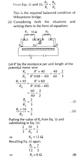 current electricity important questions for cbse class 12 physics