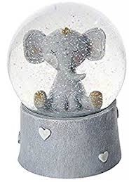 baptism snow globes baby christening gifts button corner teddy bunny snow globe