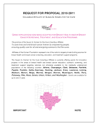 cover letter for grant application sample supporting letter for