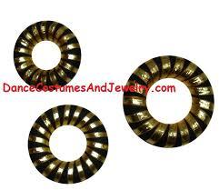 bharatanatyam hair accessories hair bun with golden ribbon hair buns hair makeup