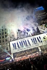 Winter Garden Theater Broadway - coverage happy 10th broadway birthday mamma mia
