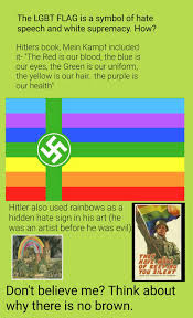 Green Red And White Flag Lgbtq Rainbow Flag Is White Supremacy Album On Imgur