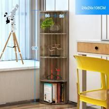 Wooden Bedside Bookcase Shelving Display Wooden Display Shelves Ebay