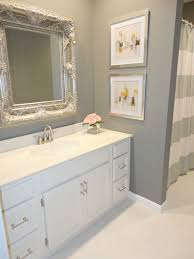 small bathroom remodel on a budget light brown wooden vanity sink