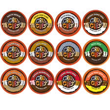 cups chocolate and flavored coffee variety pack 48