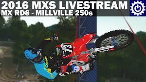 lucas oil pro motocross live stream mx simulator 2016 rd8 millville 250s livestream youtube