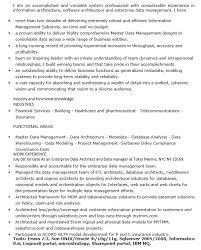 Data Architect Resume Sample by 16 Free Sample Enterprise Data Architect Resumes U2013 Sample Resumes 2016