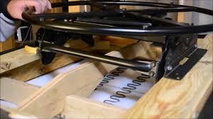 Best Chairs Inc Swivel Rocker by Swivel Glider Ring Install Video Youtube